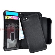 Apple iPhone 4S - Wallet Bookstyle Case uitneembaarhoesje Zwart