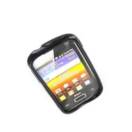 Samsung Galaxy Young - Tpu Siliconen Case Hoesje S-Style Zwart