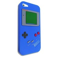 Apple iPhone 3G/3GS  - GAME BOY -TPU Silicone Hoes/Case - Blauw