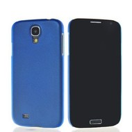 Samsung Galaxy S4 - Ultra Dunne 0,2mm Siliconen Case Hoesje Blauw