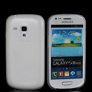 Samsung Galaxy S3 Mini - Siliconen Case Hoesje Transparant