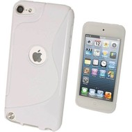 Apple Ipod Touch 5 - Tpu Siliconen Case Hoesje S-Style Wit