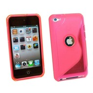 Apple Ipod Touch 4 - Tpu Siliconen Case Hoesje S-Style Roze