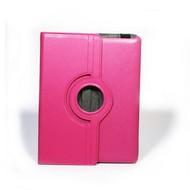 Apple iPad Mini - Hoes 360° Draaibare Case Lederlook Roze