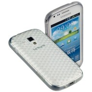 Samsung Galaxy Trend - Tpu Siliconen Case Hoesje Diamond Transparant