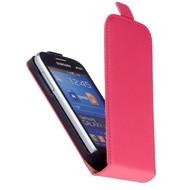 Samsung Galaxy Trend Lite (Fresh) - Flip Case Cover Hoesje Leder Roze