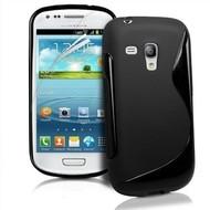 Samsung Galaxy Trend Plus - Tpu Siliconen Case Hoesje S-Style Zwart