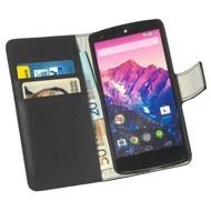 LG Nexus 5 - Wallet Bookstyle Case Y Zwart