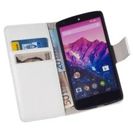 LG Nexus 5 - Wallet Bookstyle Case Y Wit
