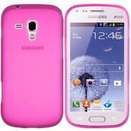 Samsung Galaxy Trend Plus - Tpu Siliconen Case Hoesje Roze