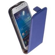 Samsung i9190 Galaxy S4 Mini-Lederlook Flip case klap hoesje - Blauw