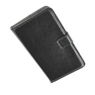 Samsung Galaxy S5 - Wallet Bookstyle Case Lederlook Zwart