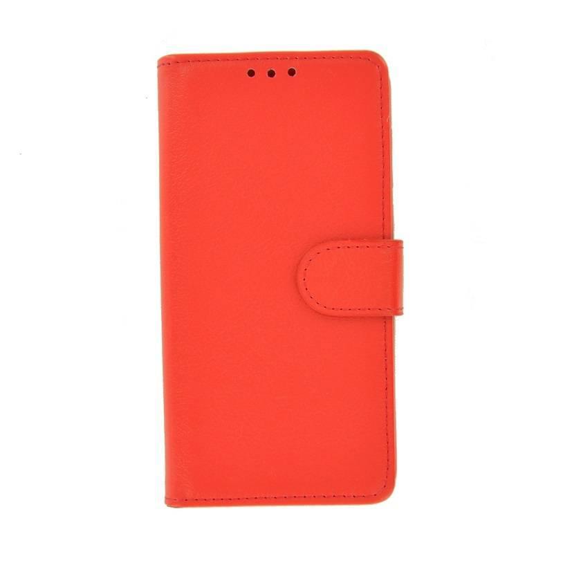 cb1650697b7 Rood Fashion Wallet Bookcase Hoesje voor Huawei P smart ...