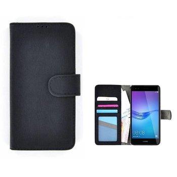 Wallet Bookcase Hoesje voor Huawei P20 Pro - Zwart Fashion