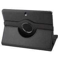 Samsung Galaxy Tab 4 (10.1) - Hoes 360° Draaibare Case Zwart