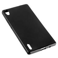 Huawei Ascend P7 - Tpu Siliconen Case Hoesje Zwart
