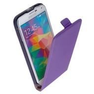 Samsung Galaxy S5  -Leder  Flip case/cover hoesje - Paars