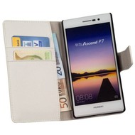 Huawei Ascend P7 - Wallet Bookstyle Case Y Wit