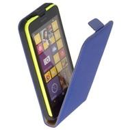 Nokia Lumia 635  -Leder  Flip case/cover hoesje - Blauw