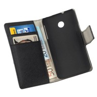 Huawei Ascend Y330 - Wallet Bookstyle Case Y Zwart
