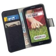 LG G2 - Wallet Bookstyle Case Y Zwart