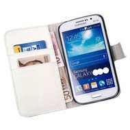 Samsung Galaxy Young 2 - Wallet Bookstyle Case Y Wit