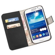 Samsung Galaxy Young 2 - Wallet Bookstyle Case Y Zwart