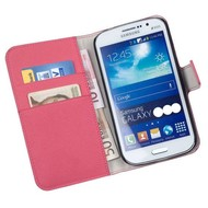 Samsung Galaxy Young 2 - Wallet Bookstyle Case Y Roze