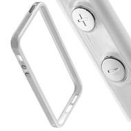 Apple Iphone 6 Plus - Siliconen Bumper Case Wit