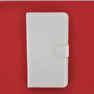 Xperia Z3 Compact / Mini D5803 - hoesje - Wallet Book Case / cover Slim - Wit