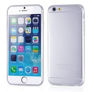 Apple Iphone 6 Plus - Tpu Siliconen Case Hoesje Transparant