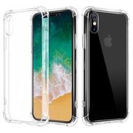 Transparant TPU Siliconen Case Hoesje voor iPhone Xs Max met versterkte randen