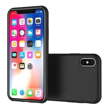 Zwart TPU Siliconen Case Hoesje voor iPhone Xs MAx