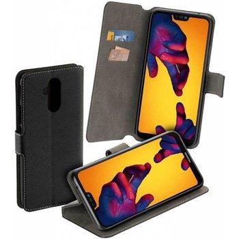 Zwart Y Wallet Bookcase voor Huawei Mate 20 Lite