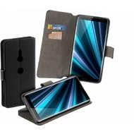 Hoesje Bookstyle Y Wallet Case Zwart voor Sony Xperia XZ3