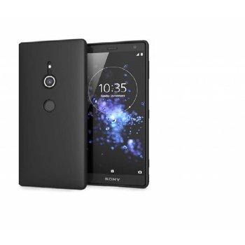 Zwart TPU Siliconen Case Hoesje voor Sony Xperia XZ3