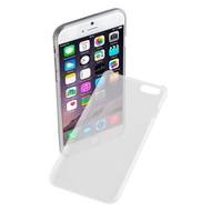 Apple Iphone 6S - Pvc Siliconen Case Ultra Slim Hoesje Wit Transparant