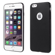 Apple Iphone 6S Plus - Tpu Siliconen Case Hoesje Zwart
