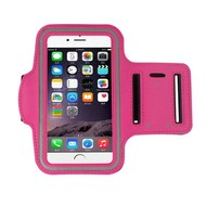 Apple Iphone 6S Plus - Sport Armband Roze