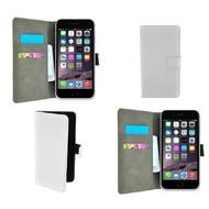 Apple Iphone 6S - Wallet Bookstyle Case Lederlook Wit