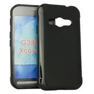 Samsung Galaxy Xcover 3 - Tpu Siliconen Case Hoesje Zwart