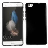 Huawei P8 Lite -Tpu Siliconen Case Hoesje Zwart