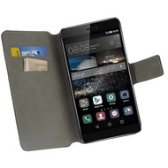 Huawei P8 - Bookstyle Case Y Zwart