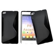 Huawei P8 - Tpu Siliconen Case Hoesje S-Style Zwart