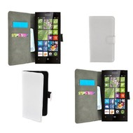 Microsoft Lumia 532 - Wallet Bookstyle Case Lederlook Wit