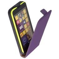 Microsoft Lumia 640 XL - Flip Case Cover Hoesje Leder Paars