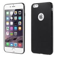 Apple Iphone 6 Plus - Tpu Siliconen Case Hoesje Zwart