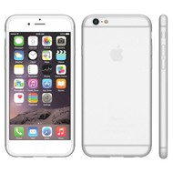 Apple Iphone 6 Plus - Tpu Siliconen Case Hoesje Wit
