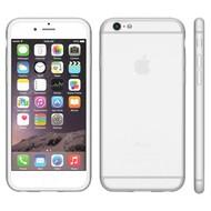 Apple Iphone 6 Plus - Tpu Siliconen Case Hoesje Wit