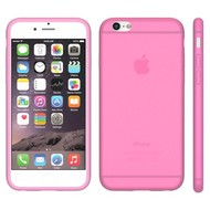 Apple Iphone 6 Plus - Tpu Siliconen Case Hoesje Roze